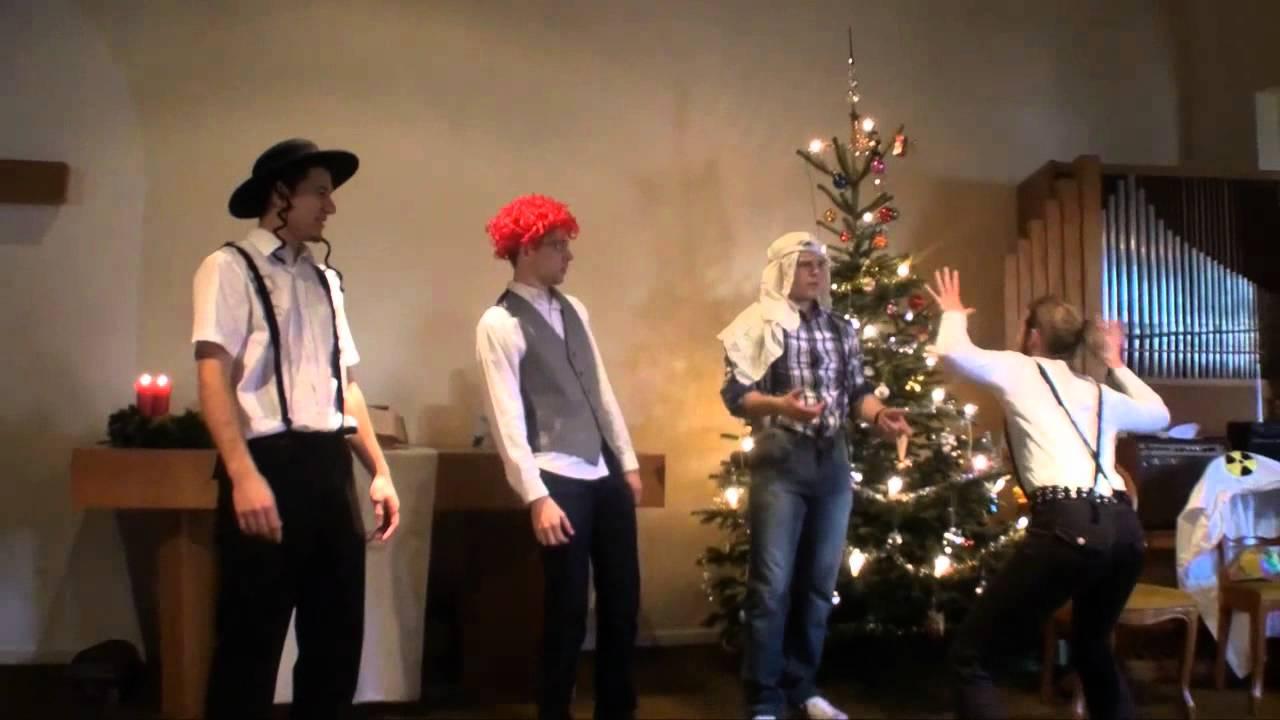 Retour vers le présent - Sketch de Noël 2011 - YouTube