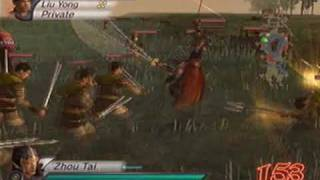 Dynasty Warriors 4 Xtreme Legends - Zhou Tai