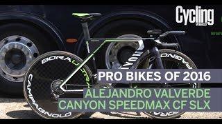 Pro Bikes of 2016: Alejandro Valverde's Canyon Speedmax CF SLX time trial bike