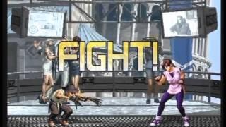 拳皇2002 - 日本 7 V.S 7 台灣