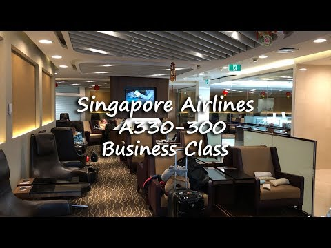 Singapore Airlines A330-300 Business Class | Melbourne to Singapore