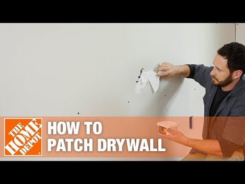 How To Patch Drywall The Home Depot