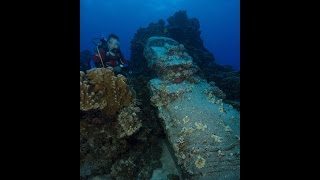 Isla de Pascua - Buceo Moai sumergido Video Nº3