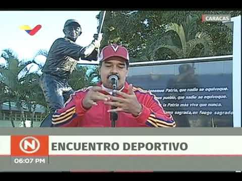Declaraciones completas del Presidente Maduro el Día del Deporte, 6 enero 2018