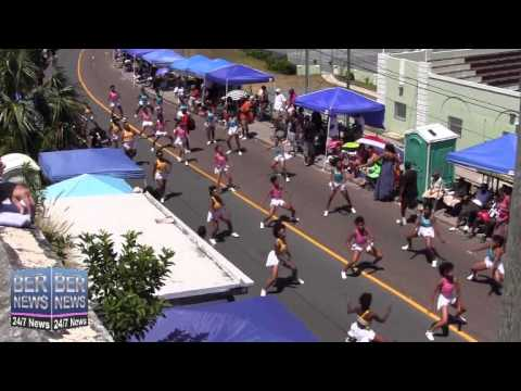 Vice Versa Ft Split Personality In The Bermuda Day Parade, May 26 2014