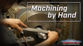 Lathe Master Machining a Part by Hand *Relaxing*