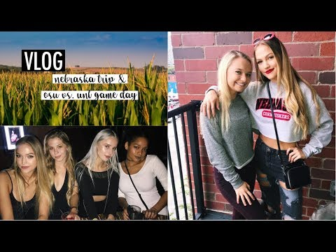 9/30-10/15 Vlog: Nebraska Trip, OSU vs. UNL Game Day | Maddie Cidlik