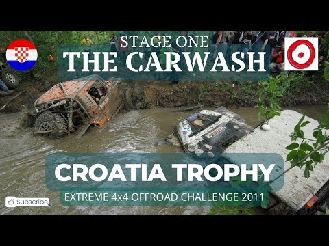 Croatia Trophy 2011 Stage 1 'The Carwash'