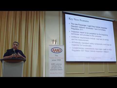 MTO Motor Vehicle Inspection Regulations