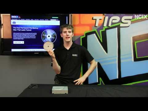 Millenniata M-DISC Permanent Storage Archival Grade Media Showcase NCIX Tech Tips