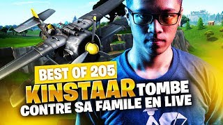BEST OF SOLARY FORTNITE #205 ► KINSTAAR TOMBE CONTRE SA FAMILLE EN LIVE