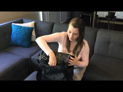 jj cole back pack diaper bag review youtube. Black Bedroom Furniture Sets. Home Design Ideas