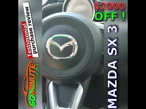Feedback on car purchase Mazda SX3