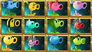 All Pea Plants in Plants vs Zombies 2 Power-Up!