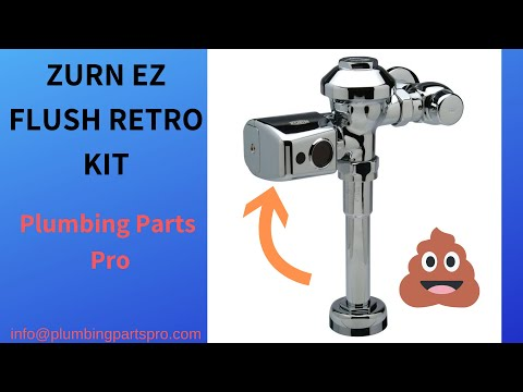 Zurn EZ Retro Flush Valve Kit Commercial Auto Flush
