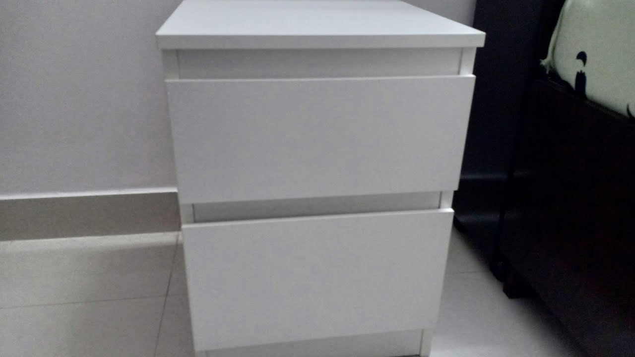 how to install bed side table kullen | ikea hyderabad| - youtube