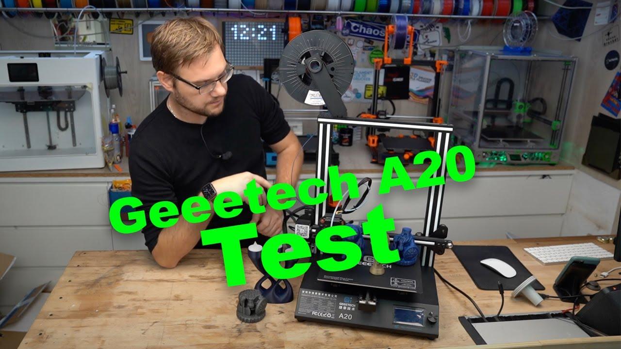 Geeteech A20 Test