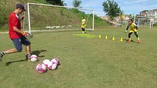 Treinamento específico de Goleiras - Coordenação - Grêmio Osasco Audax(Feminino).