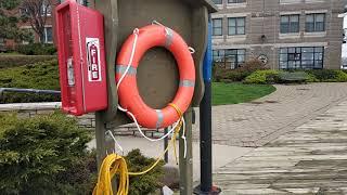 Halifax waterfront đi dạo dọc bờ sông