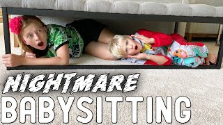The Cursed Babysitter Skit Ep. 1