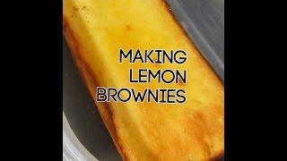 Cooking Lemon Brownies|bridget