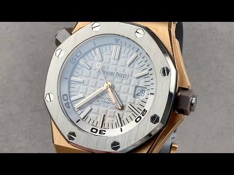 Audemars Piguet Royal Oak Offshore Diver Limited Edition 15711 Audemars Piguet Watch Review