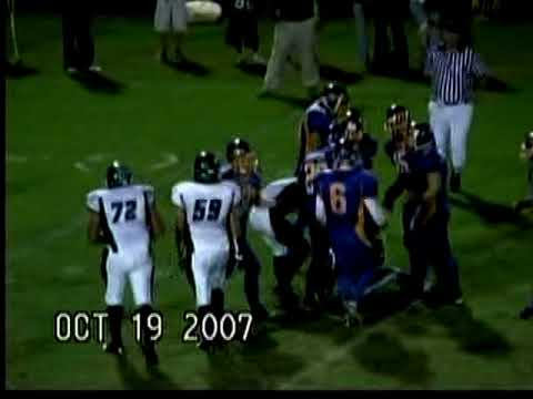 Stafford Senior High School Football Highlights 2007-2008 Season