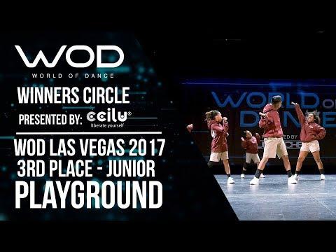 Playground | 3rd Place Junior | Winners Circle | World of Dance Las Vegas 2017 | #WODLV17