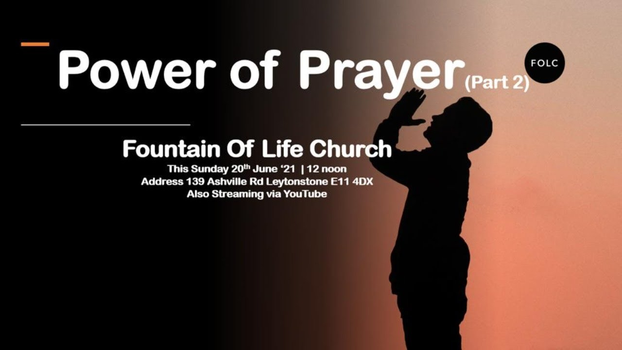 Download The Power of Prayer (Part 2) - Pastor Remi Isaacs