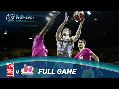 SIG Strasbourg v Mega Leks - Full Game - Basketball Champions League
