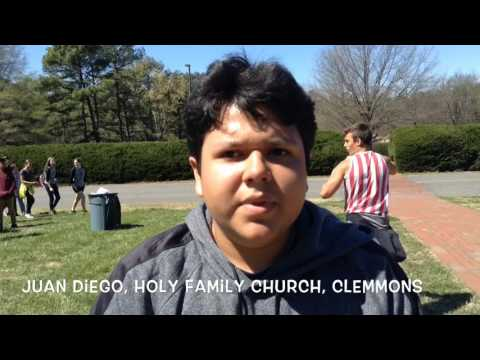 2017 Bishop's Lenten Youth Pilgrimage to Belmont Abbey video highlights