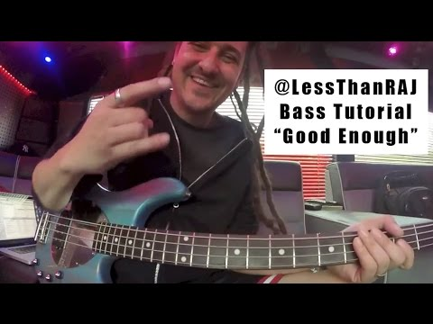 "Less Than Jake - Roger Lima - Bass Tutorial Vid 2 - ""Good Enough"""