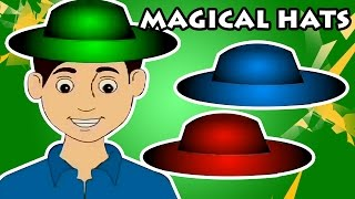 Magical Hats | Telugu Moral Stories | Short Stories For Children | Bala Mitra
