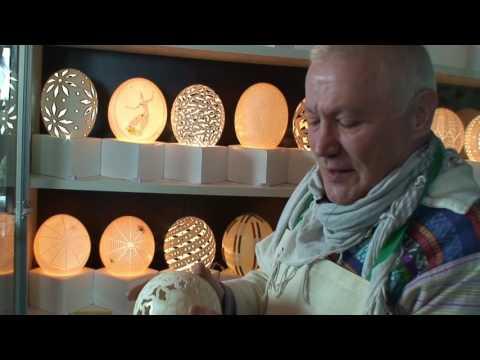 TIC'S ART Patrick Colloud sculptures sur oeufs (2)