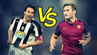 Download Totti Vs Del Piero - Epic Goals Show | Totti contro Del Piero, Gol piu Belli HD Mp3 and Videos