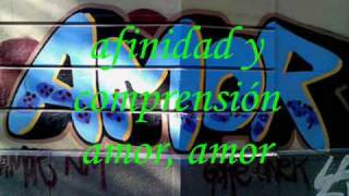 AMOR AMOR -- GRUPO NICHE  --  LETRA
