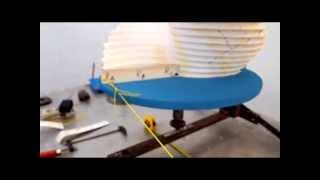 VAWT  /Savonius/  - HELIX Rotor studium ( part 2 )