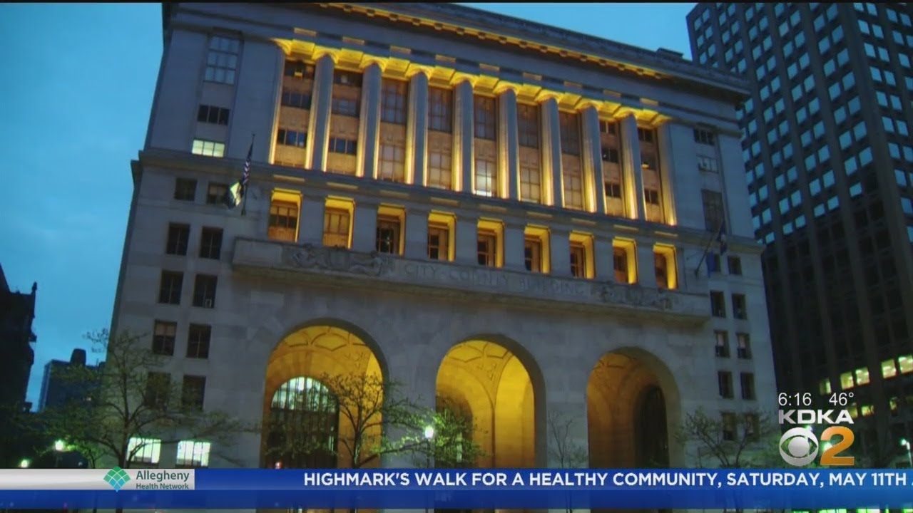 Pittsburgh Celebrates 100th Anniversary Of Easterseals By Lighting Up Orange