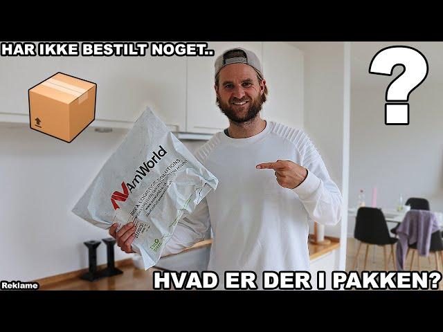 MODTAGER MÆRKELIG PAKKE?
