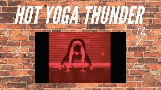 YOGA THUNDER with Heather.  This class is a blast!