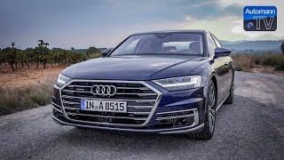 2018 Audi A8 55 TFSI - DRIVE & SOUND (60FPS)