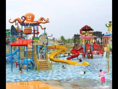 Keseruan Di Batavia Splash Waterpark Tangerang - Learning Pool Children