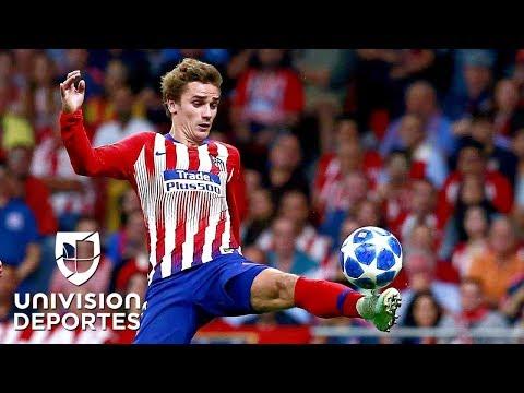 ¡Magnifique! El show de talento de Griezmann en la victoria del Atlético en Champions