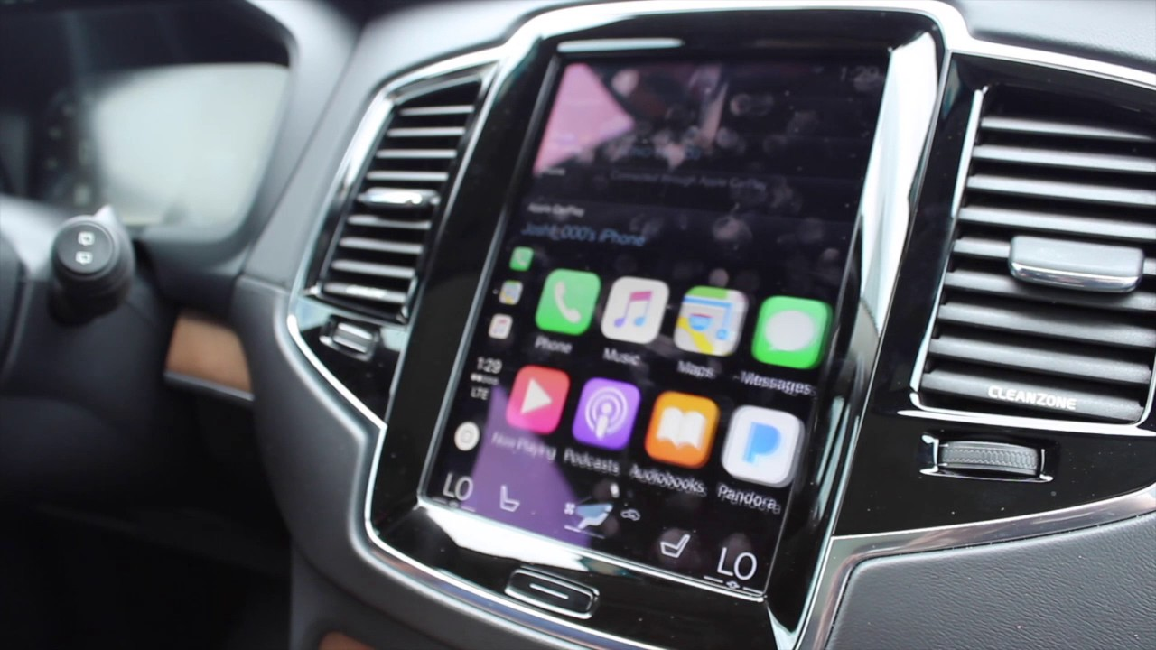 How To Use Volvo Le Carplay