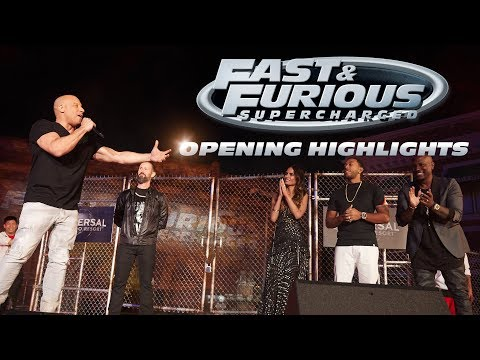 Opening Highlights | Fast & Furious - Supercharged