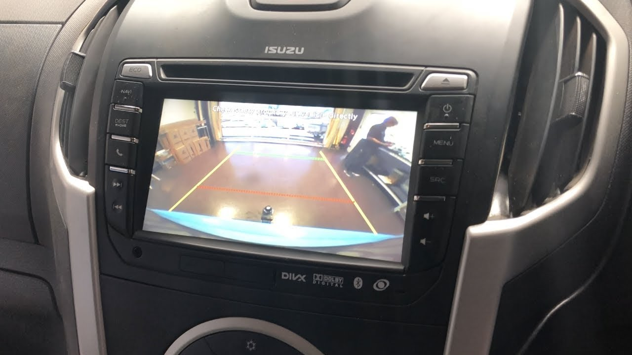 how to install stereo in isuzu dmax or mux with factory screen [ 1280 x 720 Pixel ]