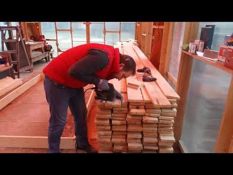 Как просто и быстро собрать дом из доски 25 мм