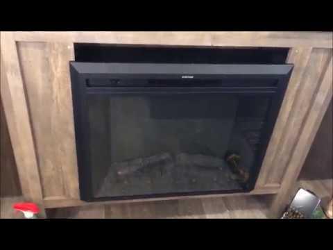 Installing Fireplace In My Rv Youtube