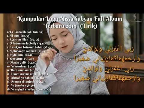 nissa-sabyan-full-album-terbaru-2019-(lirik)-|-karya-sholawat-artis-indonesia
