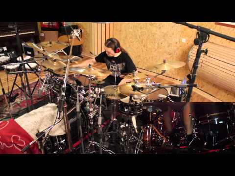 Mike Mangini at his Home Studio | Doovi